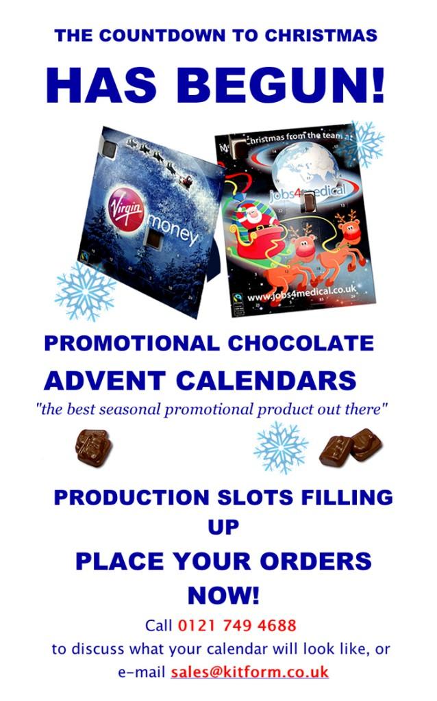 Promoitonal Christmas Calendar