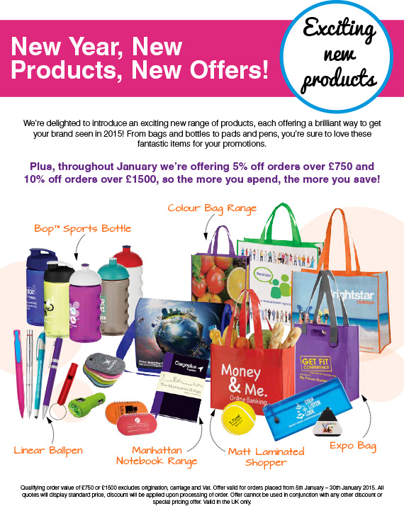 New Year, New Products, New Offers!